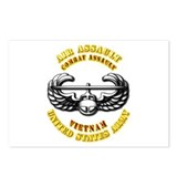 Emblem - Air Assault - Cbt Aslt - Vietnam Postcard