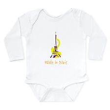 """Made in Paris"" Infant Creeper Body Suit"