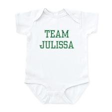 TEAM JULISSA  Infant Bodysuit