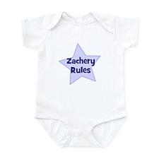Zachery Rules Infant Bodysuit
