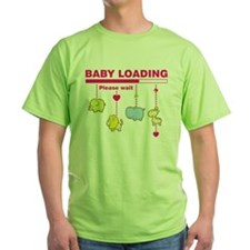 Baby girl loading T-Shirt