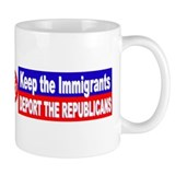 'Deport the Republicans' Small Mugs
