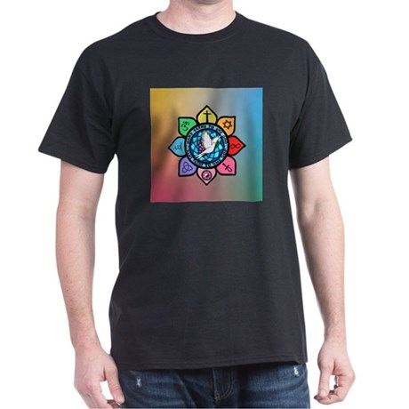 Many Paths to One God Dark T-Shirt