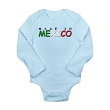 Made in Mexico Long Sleeve Baby Onsie