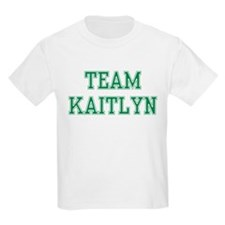 TEAM KAITLYN  Kids T-Shirt
