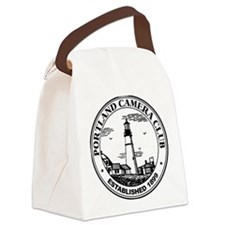 Unique Front logo Canvas Lunch Bag