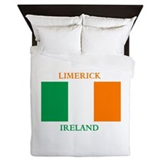Limerick Ireland Queen Duvet