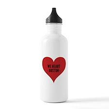 We heart Boston. Water Bottle