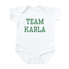 TEAM KARLA  Infant Bodysuit