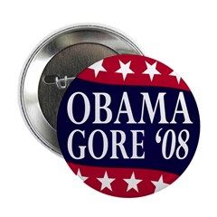 Obama-Gore '08 Button