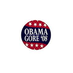 Obama-Gore '08 Mini Button (10 pack)