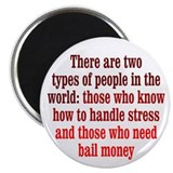 "Dealing with Stress 2.25"" Magnet (100 pack)"