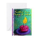 Narcotics anonymous cards Greeting Cards