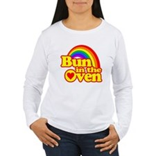 Cute! Bun in the Oven Long Sleeve T-Shirt