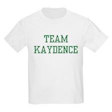 TEAM KAYDENCE  Kids T-Shirt