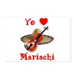 Yo Amo Mariachi Postcards (Package of 8)