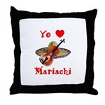 Yo Amo Mariachi Throw Pillow