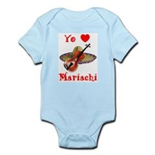 Yo Amo Mariachi Infant Bodysuit