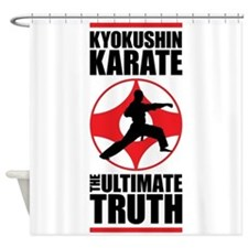 Kyokushin karate 3 Shower Curtain