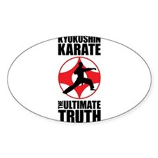 Kyokushin karate 3 Decal