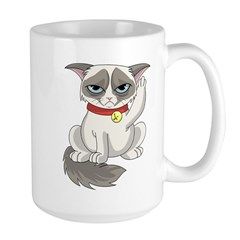 Unlucky Grumpy Cat Mug
