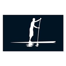 Paddleboarder MkI Black Oval Decal