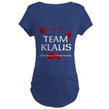 Team Klaus design Maternity T-Shirt