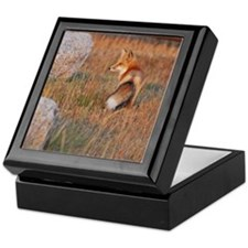 Red Fox Custom Keepsake Box