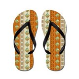southwestern style Flip Flops