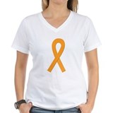 Orange Awareness Ribbon Shirt