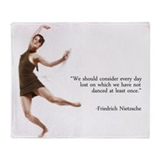 Dance Every Day Throw Blanket