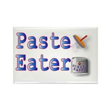 Paste Eater Rectangle Magnet