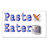 Paste Eater Rectangle Decal