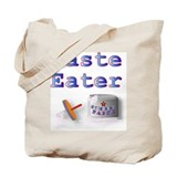 Paste Eater Tote Bag