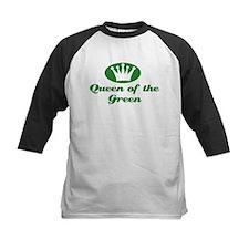 Queen of the Green Baseball Jersey