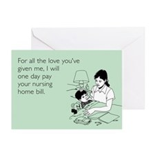 All the Love You've Given Greeting Card