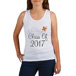 Class of 2017 Butterfly Women's Tank Top