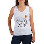Class of 2018 Butterfly Women's Tank Top