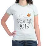 Class of 2019 Butterfly Jr. Ringer T-Shirt