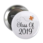 "Class of 2019 Butterfly 2.25"" Button"