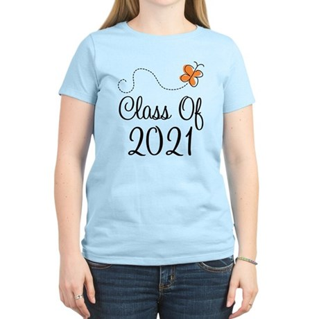 Class of 2021 Butterfly Women's Light T-Shirt
