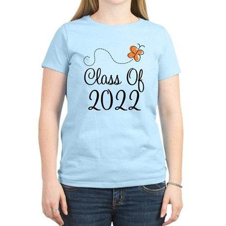 Class of 2022 Butterfly Women's Light T-Shirt