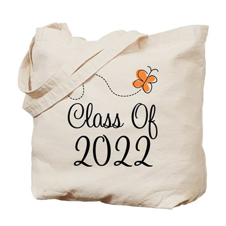 Class of 2022 Butterfly Tote Bag