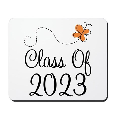 Class of 2023 Butterfly Mousepad
