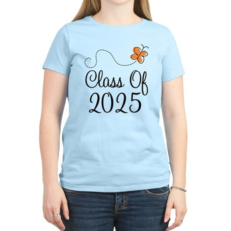 Class of 2025 Butterfly Women's Light T-Shirt