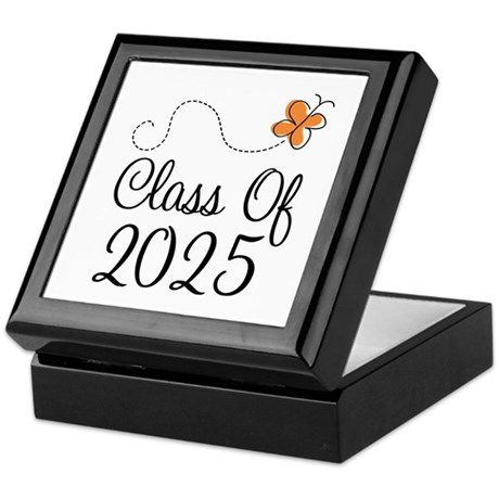 Class of 2025 Butterfly Keepsake Box