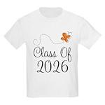 Class of 2026 Butterfly Kids Light T-Shirt