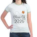 Class of 2026 Butterfly Jr. Ringer T-Shirt