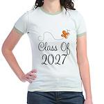 Class of 2027 Butterfly Jr. Ringer T-Shirt