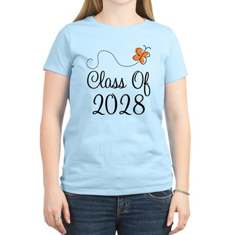Class of 2028 Butterfly Women's Light T-Shirt